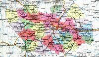 Административная карта Пензенской области