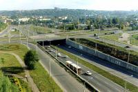 Дорожная развязка на улице 8 марта