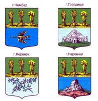 Гербы Пензенских городов 2