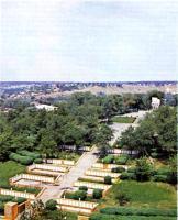 Холм Славы в Кузнецке. 1975.