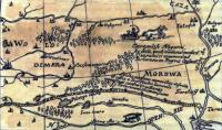 Карта 1614 года