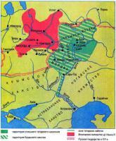 Карта «Казанское ханство»