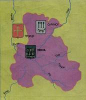 Карта Пензенская провинция