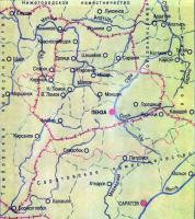 Карта «Пензенское наместничество»