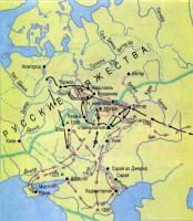 Карта «Золотая орда»