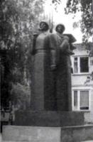 Воинский мемориал в Башмакове.