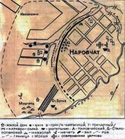 Мохши, план города