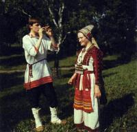 Мордовский костюм (эрьзя и мокша)