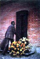 Памятник В.Э. Мейерхольду. Скульптор Ю.Е. Тканченко