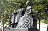Памятник Ульяновым. Скульптор А.А. Фомин