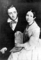 Огарев с женой