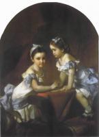 Девочки-сёстры Араповы Лиза и Наташа